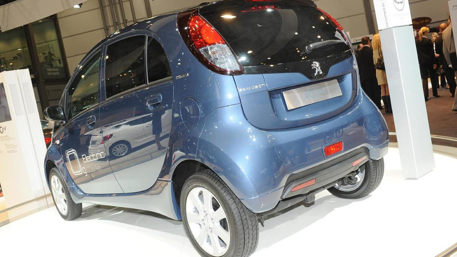 Citroen C-Zero and Peugeot iOn production halted