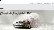 Volkswagen Teases New 2011 Sharan MPV for Geneva