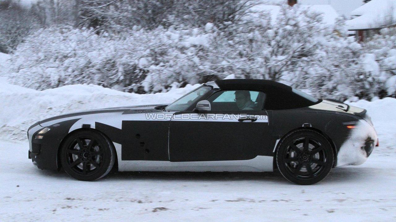 2012 Mercedes-Benz SLS AMG Roadster spied 24.01.2011