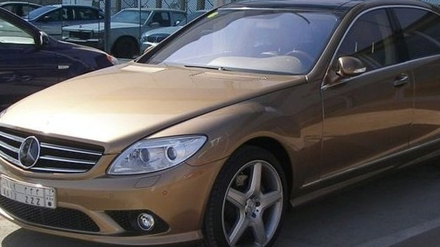 Saudi Tuner: Mercedes S550 Gets CL550 Front End Conversion - Becomes CS500?