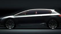 Subaru Hybrid Tourer Concept prelaunch renderings, 9.30.2009