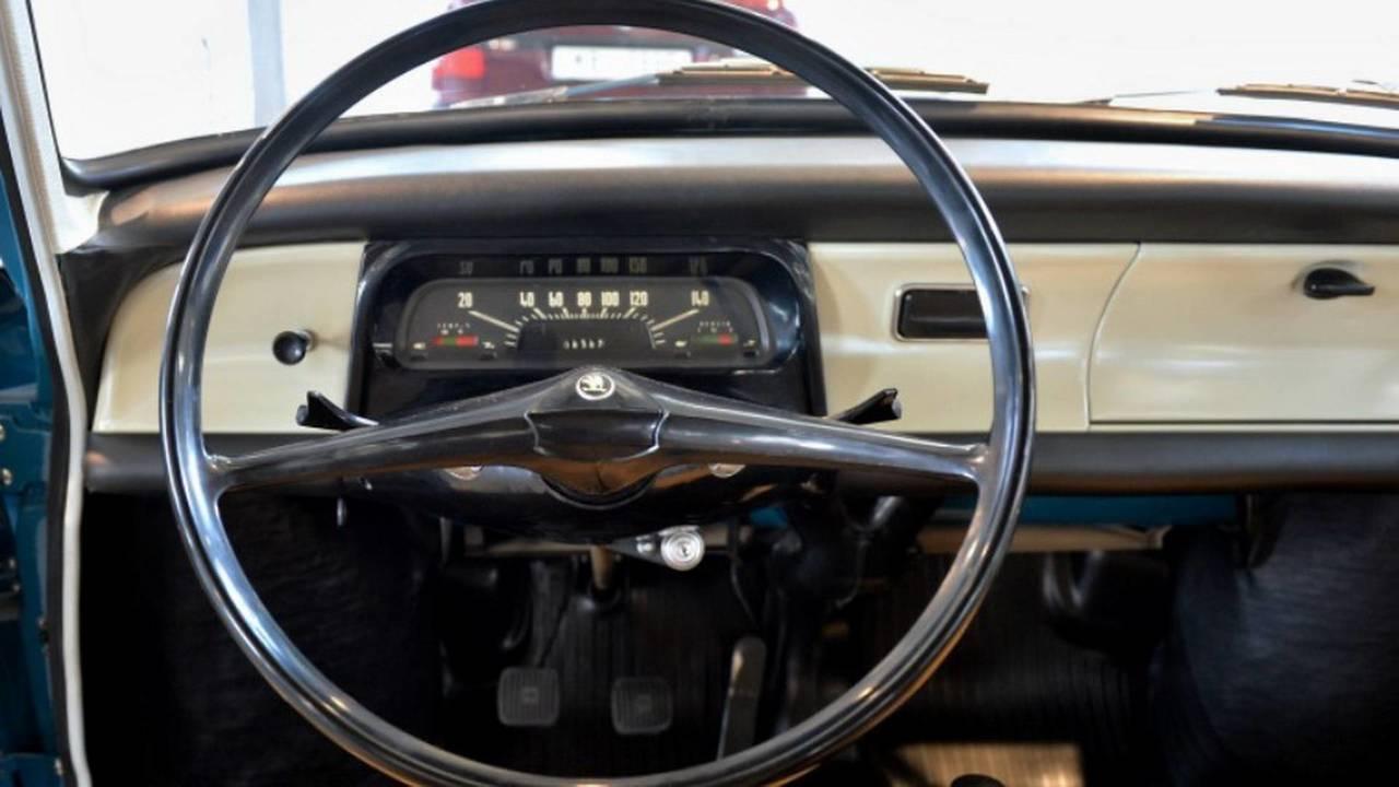 1966 Skoda 1000 MB direksiyon simidi