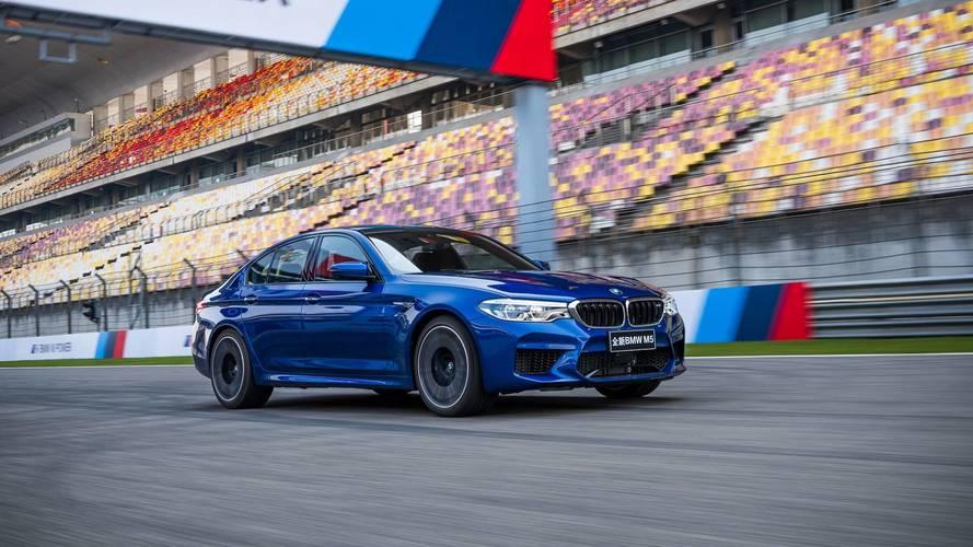 La nouvelle BMW M5 s'adjuge un record sur le circuit de Shanghai