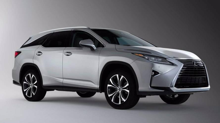 Le Lexus RX 7 places fait ses débuts à Los Angeles