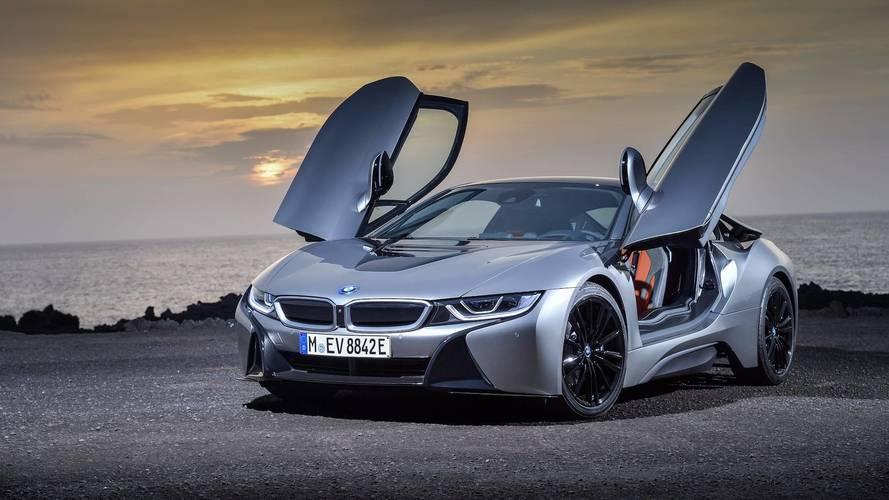 Sí, BMW también ha actualizado el i8 Coupé 2018