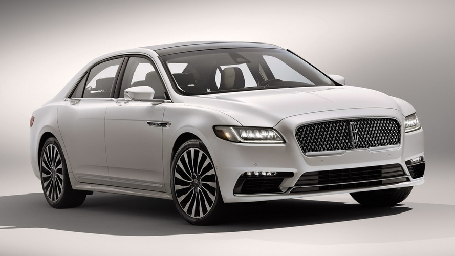 2017 Lincoln Continental priced from $45,485