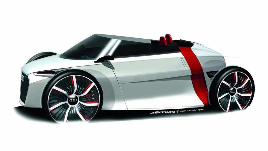 Audi reveals Spyder variant sketches of Urban Concept