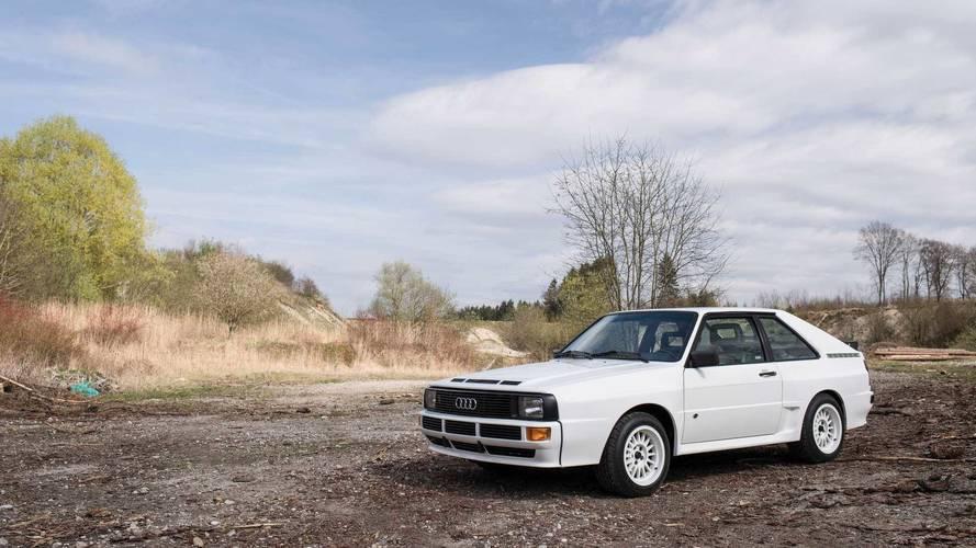 Audi rinde homenaje al Sport Quattro de 1984