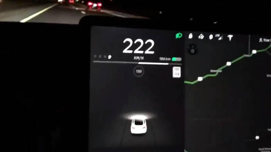Tesla Model 3 Hits Top Speed Of 141 MPH