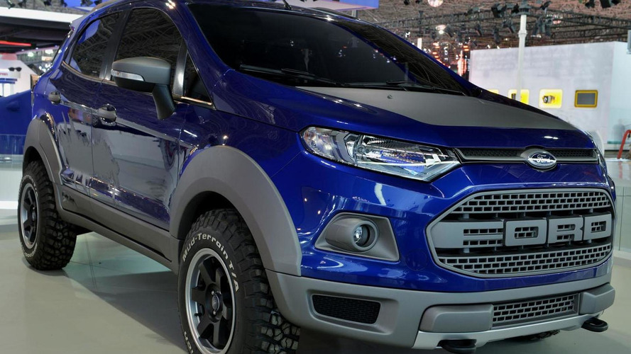 Ford EcoSport Storm concept unveiled, draws cues from the F-150 Raptor