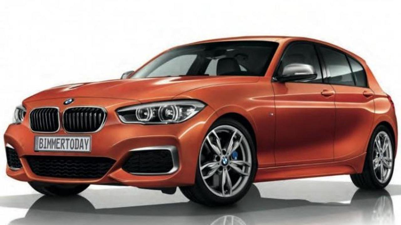 Facelifted BMW M135i leaked brochure image / Bimmertoday