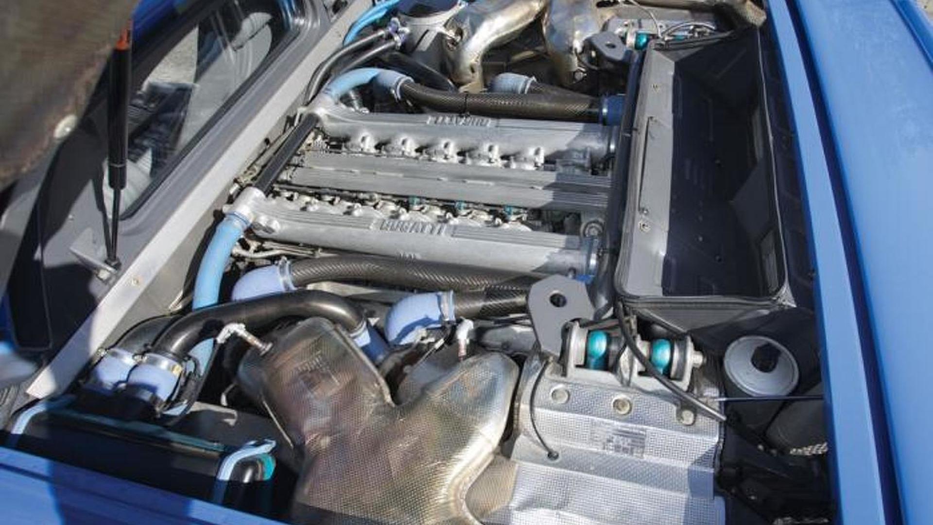 Мотор Bugatti EB110 GT 1993 года