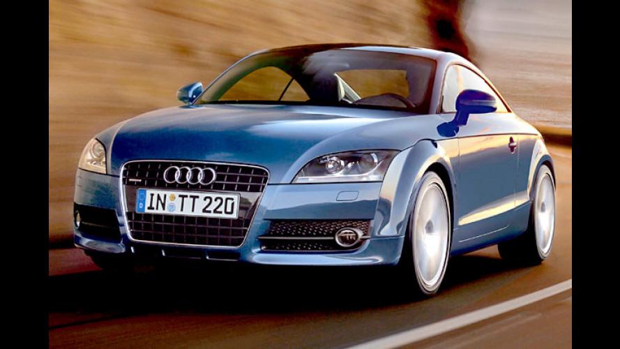 Neuer Zuwachs bei der Audi-TT-Familie: Der TT 1.8 TFSI