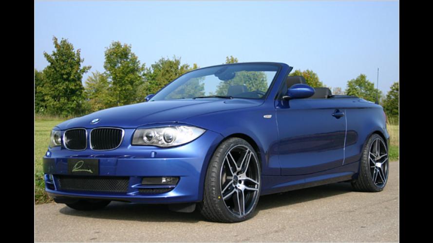 Feines kleines Tuning für BMW 1er Cabrio