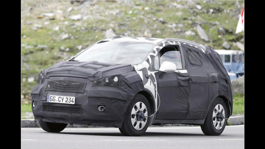Erste Erlkönigbilder: Neues Mini-SUV von Opel