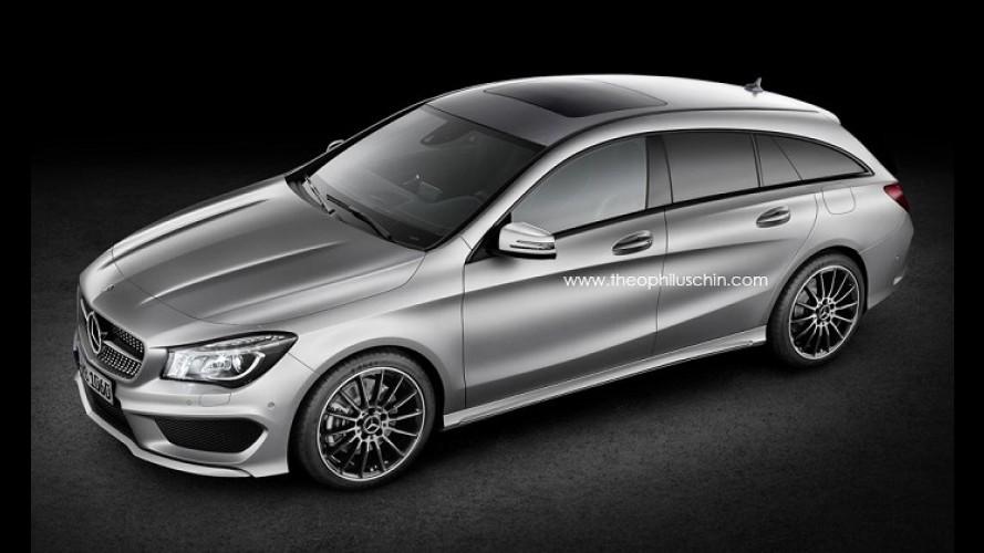 Confirmado: Mercedes-Benz CLA ganhará versão Shooting Brake em 2015