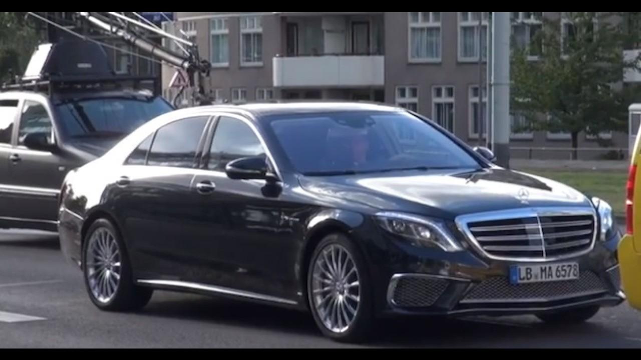 Flagra: Mercedes S65 AMG aparece antes da hora