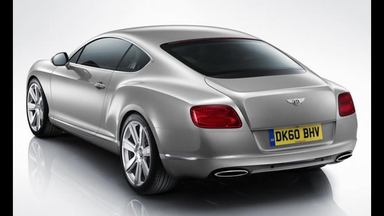 Bentley comemora aumento de 20% nas vendas no 1º semestre