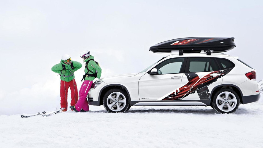 BMW announces X1 Powder Ride Edition and K2 Powder Ride concept