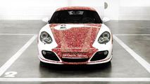 Porsche Cayman S 2,000,000 Facebook fan car  18.1.2012