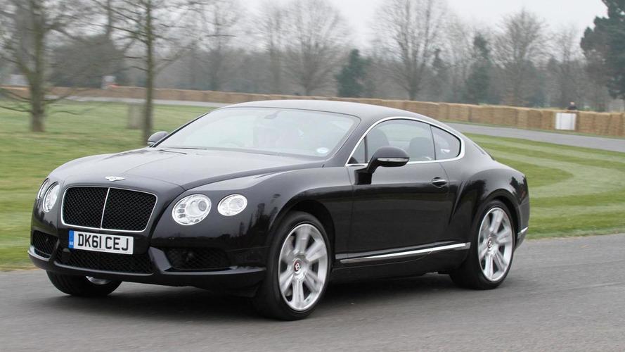 Bentley Continental GT V8 tackles Goodwood