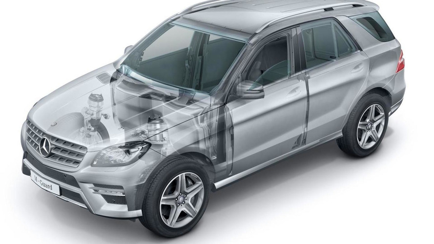 Armored Mercedes-Benz M-Class Guard announced