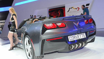 Chevrolet Corvette Stingray Convertible live in Geneva