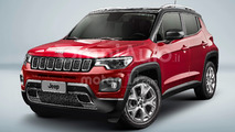 Jeep Baby, il rendering