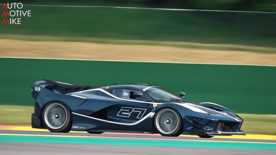 Pump Up The Volume: Ferrari FXX K Evo Screams At Spa
