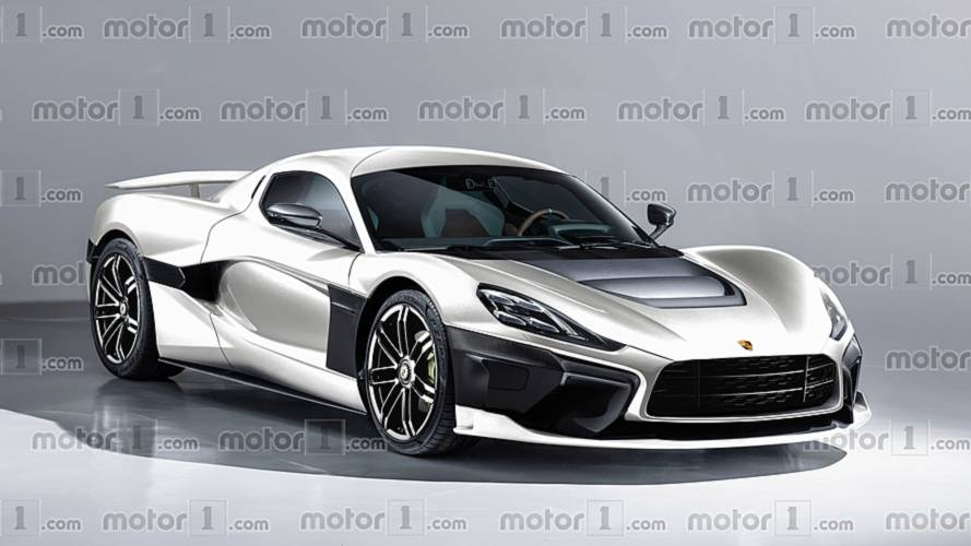 Porsche ve Rimac'ın üreteceği ilk EV, sanal ortamda hayal edildi