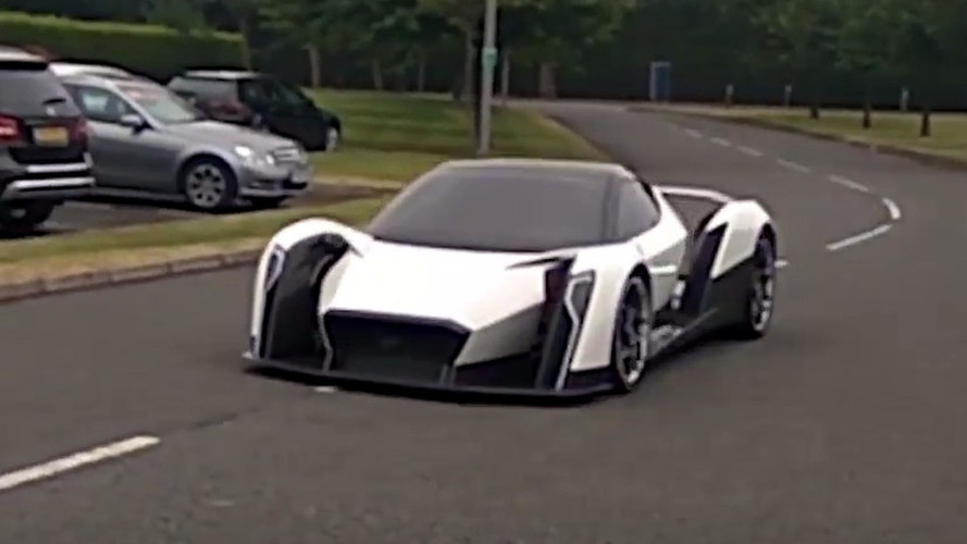Vanda Dendrobium Electric Hypercar Spotted On The Move