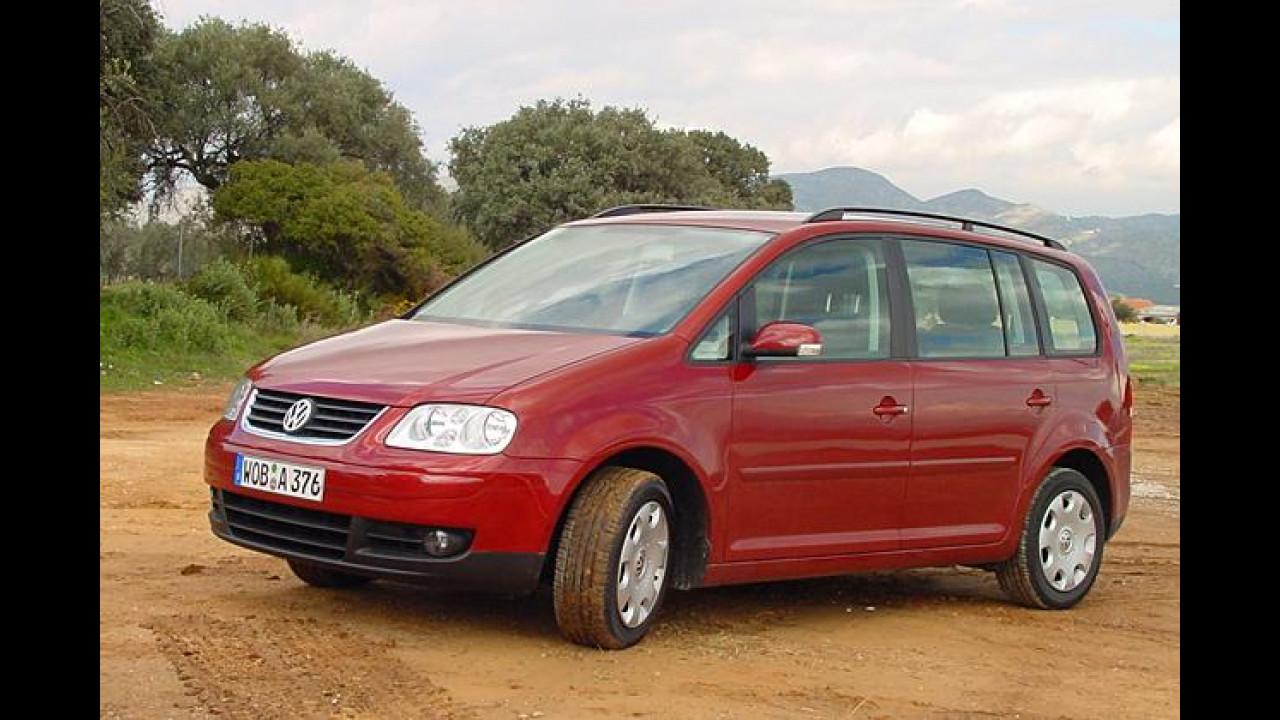 VW Touran: Aus fünf mach sieben