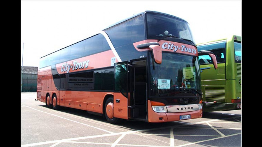 ADAC Busreisen-Test 2004: Jede sechste Busfahrt durchgefallen
