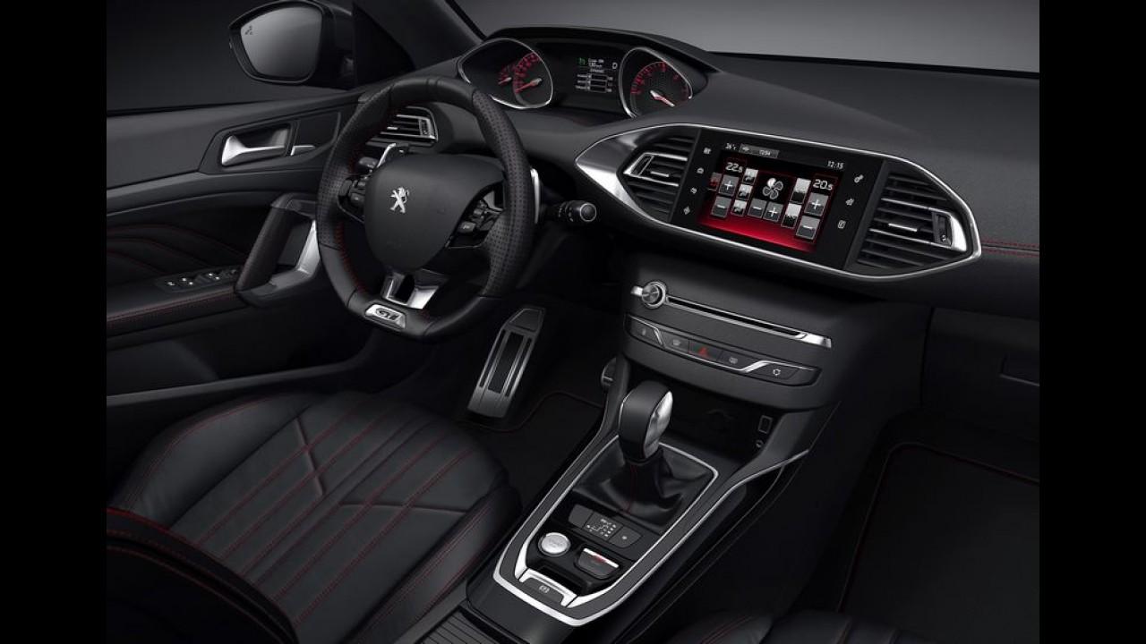 """Novo Peugeot 308 GT de 205 cv é lançado no Uruguai por """"salgados"""" R$ 156 mil"""