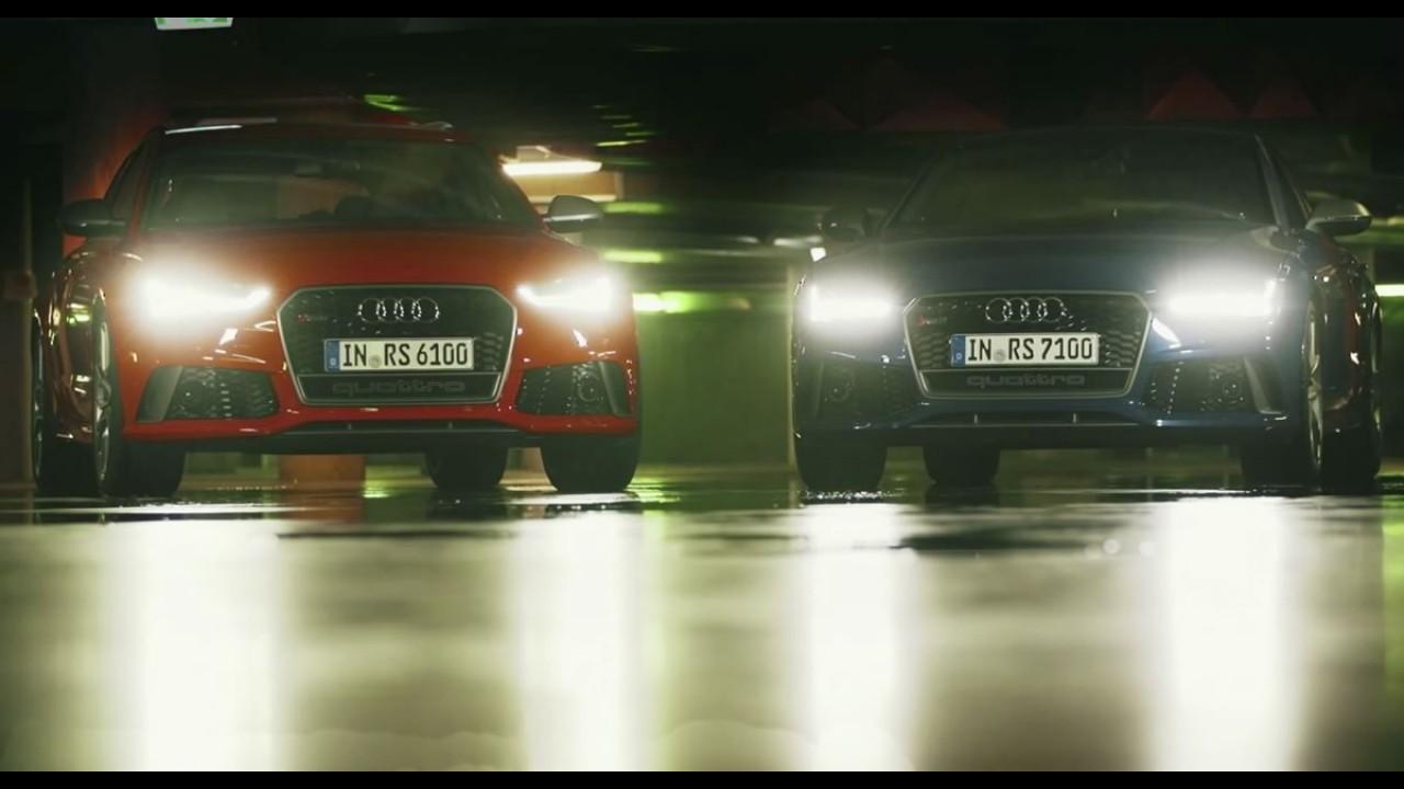 Audi mostra RS6 Avant e RS7 Sportback Performance Edition em vídeo