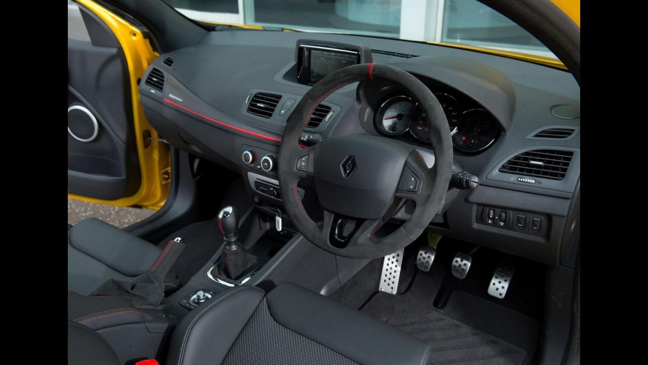 Este é o último exemplar do Renault Megane RS de 3ª geração, que custa US$ 42,1 mil