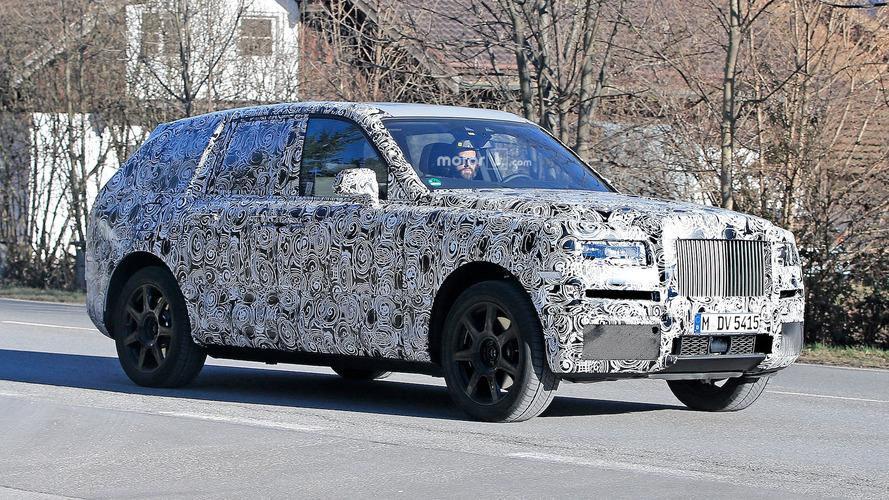 Photos espion - Le Rolls-Royce Cullinan ne se cache presque plus