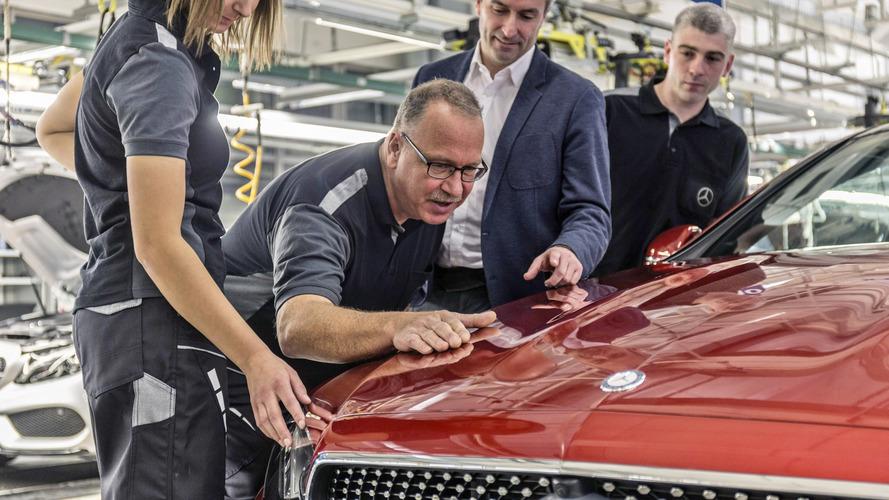 Mercedes Classe E Coupé produção
