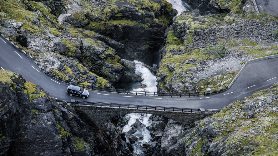 Range Rover'ı bir de bu şekilde görün