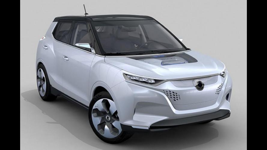 Ssangyong Tivoli EVR, futuro ibrido per la SUV coreana?