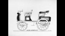 Egger-Lohner electric vehicle, C.2 Phaeton model - Porsche P1
