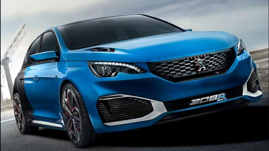 Peugeot 308 R Hybrid: come? 500 CV?