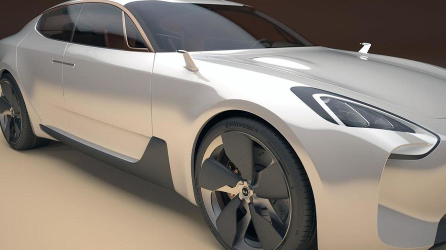 Kia considering a Mercedes CLS competitor?