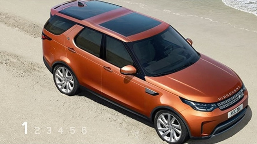 2017 Land Rover Discovery leaks out ahead of tonight's debut
