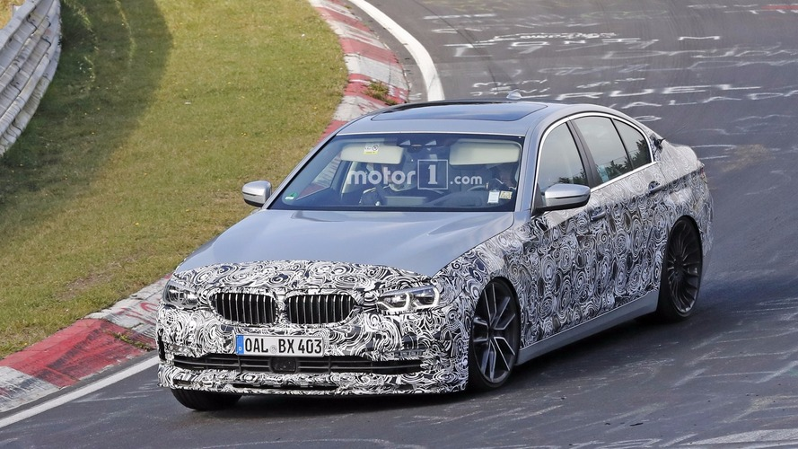 2018 Alpina B5 spy photos