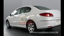 Segredo revelado! Veja como é a traseira do Novo Peugeot 308 Sedan