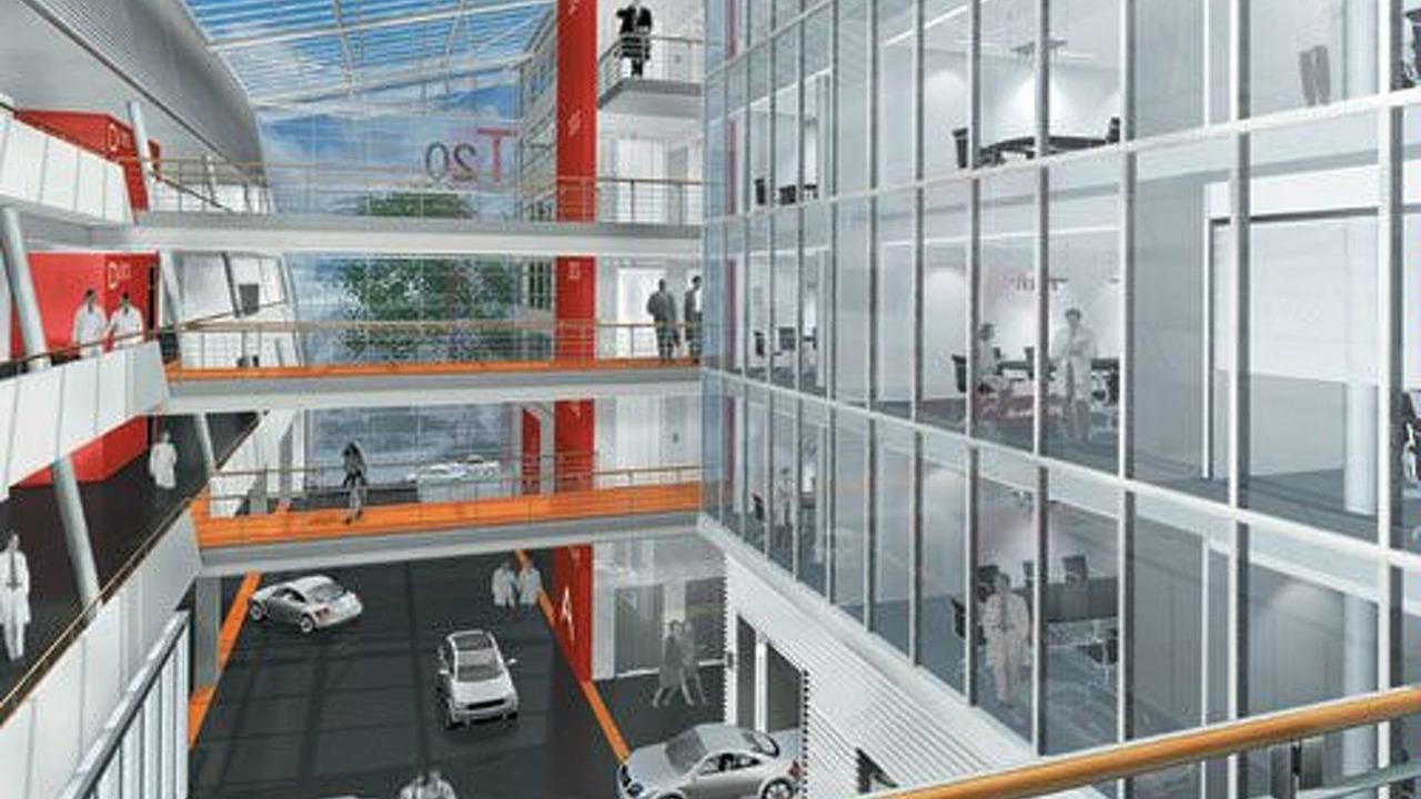 Audi Elestronics Center at Ingolstadt