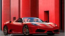 Ferrari 430 Scuderia Spider Artists Rendering