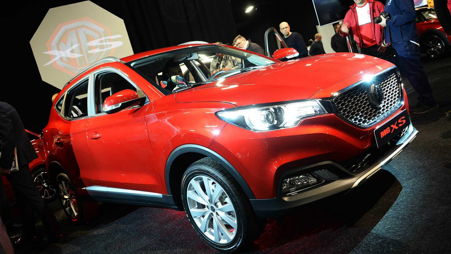 New MG XS Revealed At 2017 London Motor Show