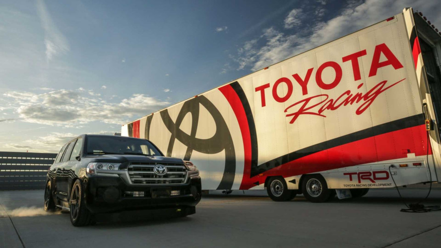 Toyota cria o SUV mais veloz do mundo, o Land Speed Cruiser